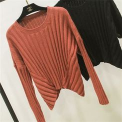 Honey House - Rib Knit Sweater