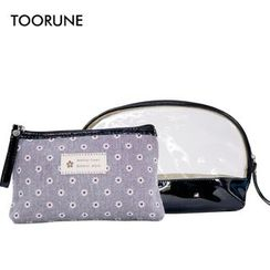 TOORUNE - Set of 2: Travel Cosmetic Bag
