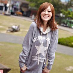 Tokyo Fashion - Printed Hooded Pullover