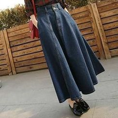 Neeya - Maxi Denim Skirt