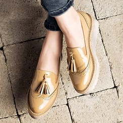 MIAOLV - Tasseled Brogue Loafers