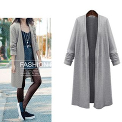 VIZZI - Open-Front Long Cardigan