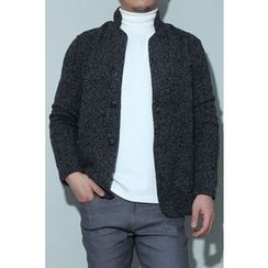 Ohkkage - Two-Button Knit Jacket