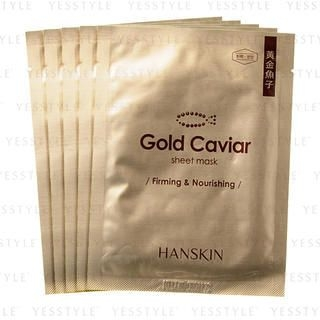 Hanskin - Gold Caviar Sheet Mask (Firming & Nourishing)