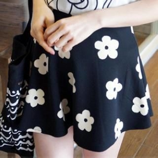 rico - Floral A-Line Skirt