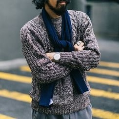 YIDESIMPLE - Knit Sweater
