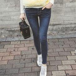 ERANZI - Plain Skinny Jeans