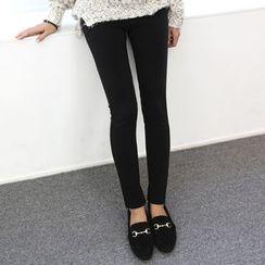 DANI LOVE - Brushed-Fleece Lined Leggings