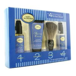 The Art Of Shaving - Starter Kit - Lavender: Pre Shave Oil + Shaving Cream + Brush + After Shave Balm