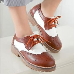 Sidewalk - Color Block Oxfords