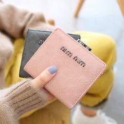 梨花娃娃 - 曲折紋拼接錢包