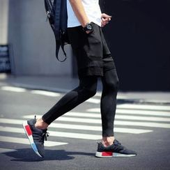 百高 - 连短裤内搭裤