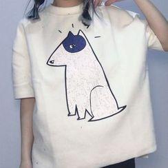 气质淑女 - 短袖印花T恤