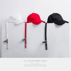Newin - 情侶款金屬夾設計棒球帽