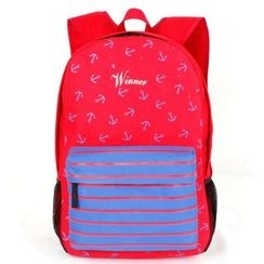 VIVA - Striped Canvas Backpack