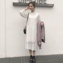 Dute - Pleated Midi Tank Dress