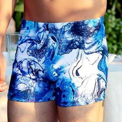 UniFIN - Printed Swim Shorts