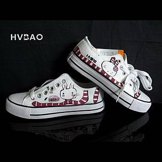 HVBAO - 'Little Rabbit'  Canvas Sneakers