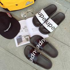 Fireon - Lettering Slippers