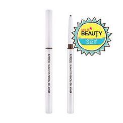 A'PIEU - Slim-Fit Pencil Gel Liner (#BR01 Cacao Brown)