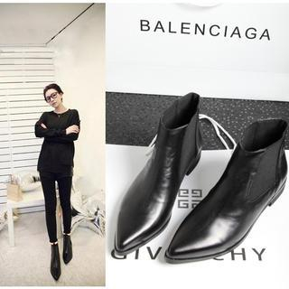 JY Shoes - Pointy Ankle Boots