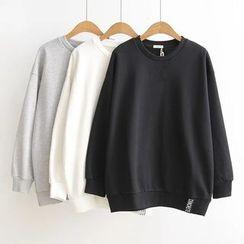 Ainvyi - Lettering Sweatshirt