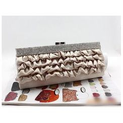 Glam Cham - Faux Leather Clutch