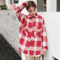 Tiny Times - Plaid Long Shirt