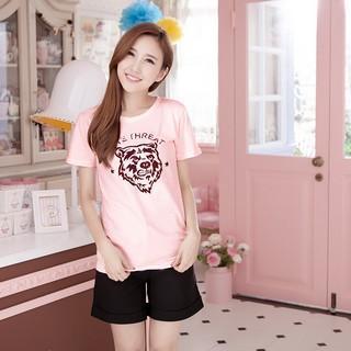 RingBear - Tiger-Print T-Shirt