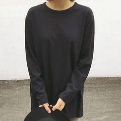 Rollis - Plain Long Sleeve T-Shirt