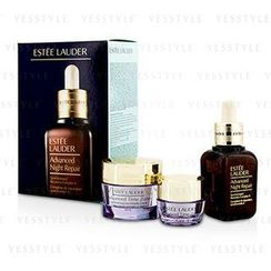Estee Lauder - Anti-Wrinkle Set: Advanced Night Repair 30ml/1oz + Advanced Time Zone SPF 15 15ml/0.5oz + Advanced Time Zone Eye 5ml/0.17oz