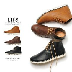 Life 8 - Lace Up Short Boots