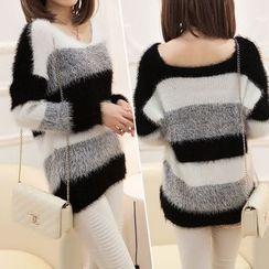 Hibisco - Color Block Sweater