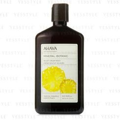 AHAVA - Mineral Botanic Velvet Cream Wash - Tropical Pineapple and White Peach