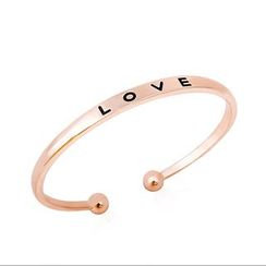 Cheermo - Letter Open Bangle