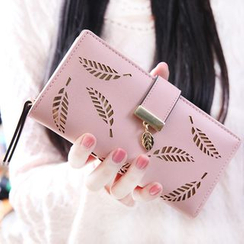 Bellflower - Leaf Cutout Wallet