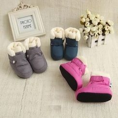 MOM Kiss - Baby Fleece Lined Snow Boots