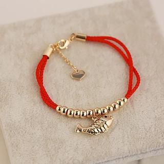 Love Generation - Beaded Braided Bracelet
