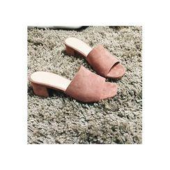 ATTYSTORY - Chunky-Heel Mules