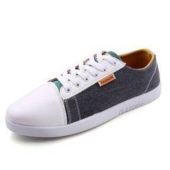 Gerbulan - Paneled Canvas Sneakers