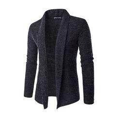 Fireon - 圍巾領開衫
