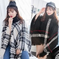 AIREAL - Plaid Cape