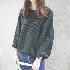 Polaris - Pinstriped Sweater
