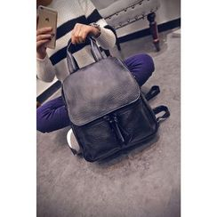 Buddies - Faux Leather Backpack
