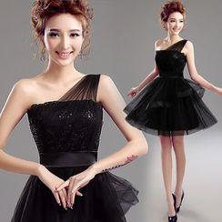 Angel Bridal - 亮片小禮服