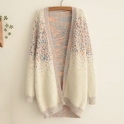 FR - V-Neck Colour Block Cardigan
