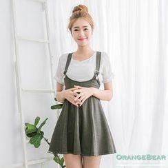 OrangeBear - Suspender Skirt