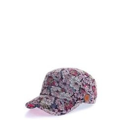 Ohkkage - Floral Military Cap