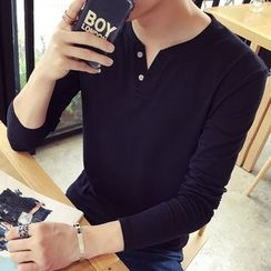 Besto - Long-Sleeve Henley