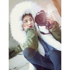 LOLOten - Hooded Faux-Fur Lined Parka